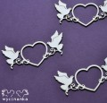 BEAUTIFUL WEDDING - decorative heart with pigeons (1)