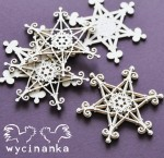 CHRISTMAS JOY - two-ply snowflakes