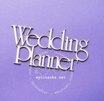 "napis ""Wedding Planner"""