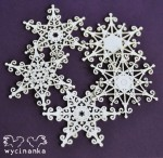 CHRISTMAS JOY - snowflakes, pattern 2