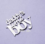 "napis ""daddy's little boy"""