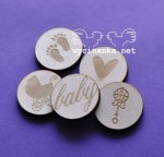 SWEET LITTLE BABY - badges/buttons