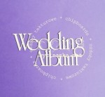 "napis ""Wedding Album"""