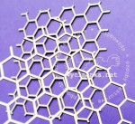 honeycomb background - large eyelet
