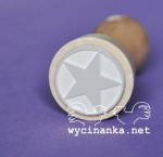 rubber stamp star, wz. 3