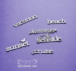 SUMMER AT THE SEASIDE - English words