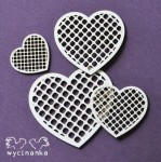BEAUTIFUL WEDDING - openwork  hearts