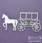 BEAUTIFUL WEDDING - lacy carriage
