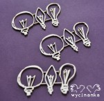 VINTAGE OFFICE -  light bulbs, 9 pcs.