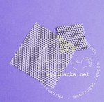 honeycomb background - small eyelet