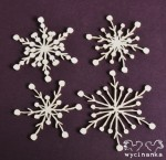 WINTER DOODLES - snowflakes