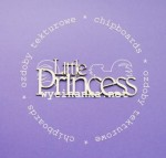 "napis ""Little Princess"""