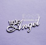 "napis ""little Angel"""