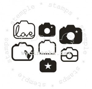 rubber stamps set Fotostory 6