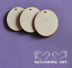 SIMPLE - etykietki wz. 1,  sklejka 3 mm