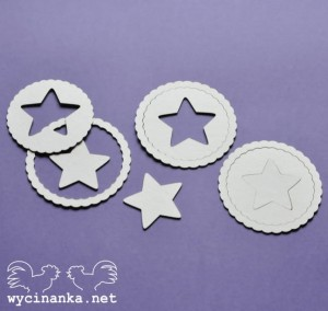 HELLO BABY set with stars, chipboard decorations.JPG