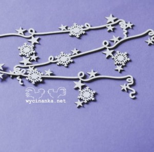 WINTER IS COMING - garlands, design 1