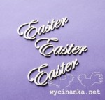 "words ""Easter"", 3 pieces"