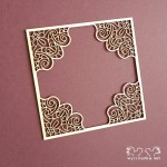 TENDERNESS 5759 Frame with decorative corners