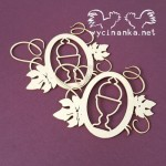 GRACE 5797 Delicate frames with chalice - 2pcs