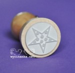 rubber stamp star, wz. 1