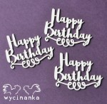 BEST WISHES - inscriptions Happy Birthday