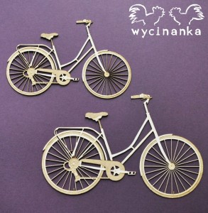 VEHICLES  - bicycle, 2 pcs.