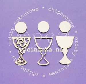 chalices 3 pieces
