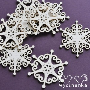 CHRISTMAS JOY - snowflakes, pattern 3
