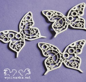 STEAMPUNK TIME - butterflies