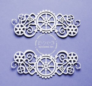 STEAMPUNK - decors, pattern 2