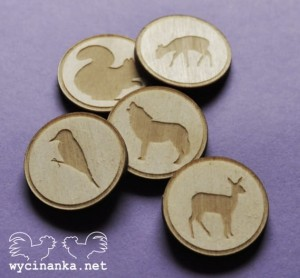 NATURE - badges / buttons