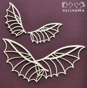 AROUND THE STEAMPUNK - wings, pattern 2