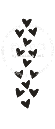 "Stamp ""hearts"""