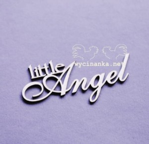 "inscription ""little Angel"""