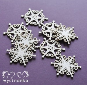 CHRISTMAS JOY - snowflakes, pattern 3 small