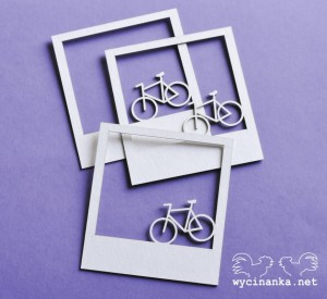 MAN'S WORLD frames with bicycles